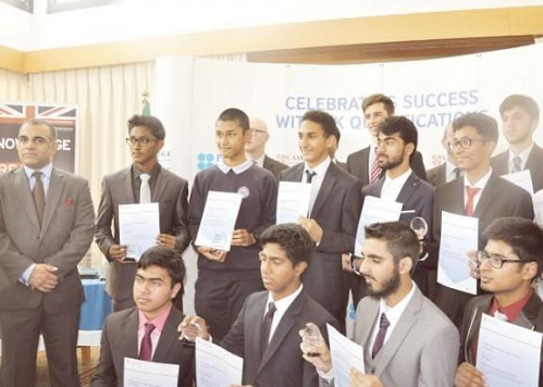 UK Consulate Honors Outstanding Achievers in Cambridge Exams