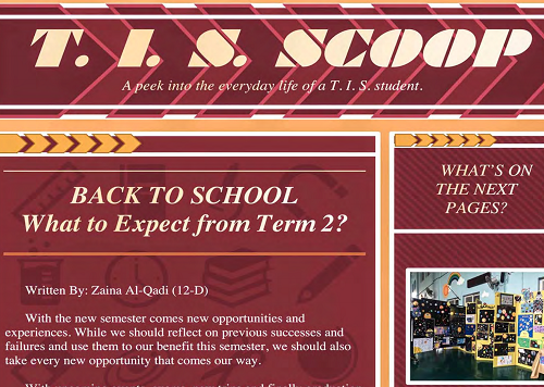 What to Expect from Term 2? - Thamer International Schools