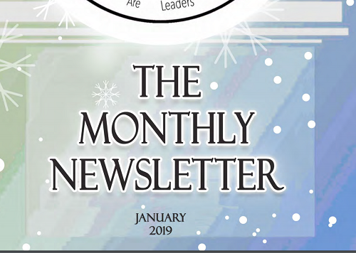 January Newsletter 2019 - Thamer International Schools
